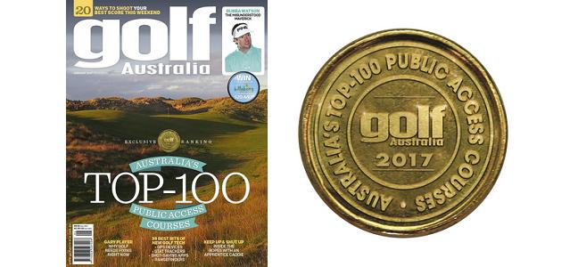 Golf Australia 2017 Top 100 Rankings