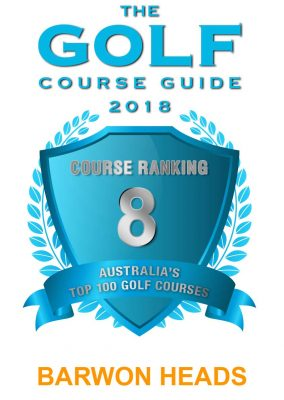 Golf Course Guide Ranking 2018