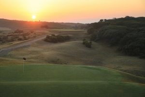 Sunrise 4th Tee Barwon Heads