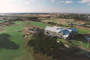 Barwon heads Clubhouse from the air