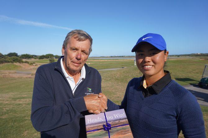 Yuka Saso breaks course record