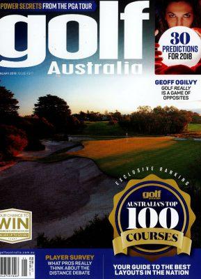 Golf Australia Top 100 2018