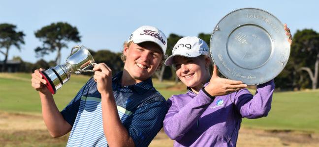Victorian Junior Open 2019 & 2020.