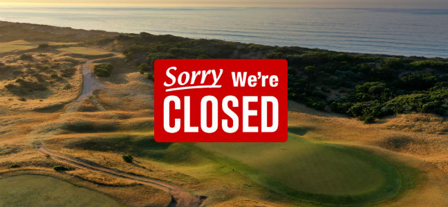 Golf Course Closure